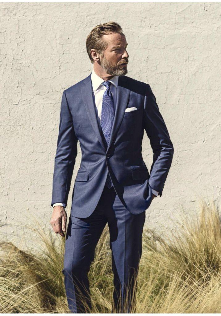 Navy Blue Suit